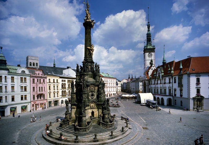 Колонна Пресвятой Троицы (Оломоуц, Чехия)