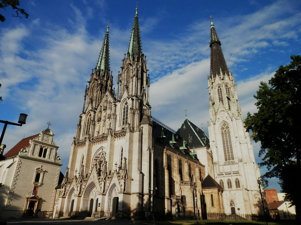 Классические достопримечательности Оломоуца: собор св. Вацлава