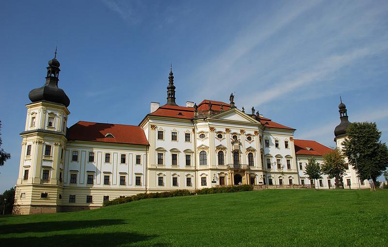 Достопримечательности Оломоуца: Градиский монастырь