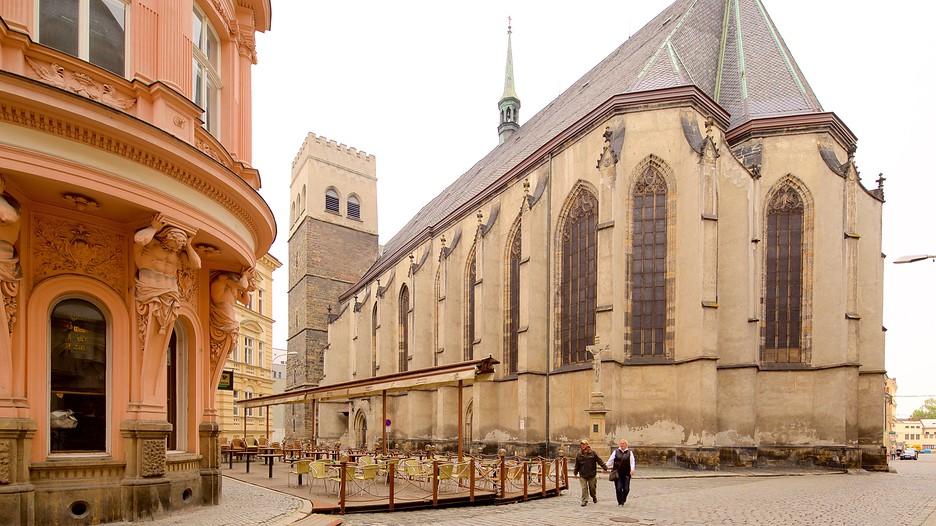 Достопримечательности Оломоуца: церковь Санкт-Мориц