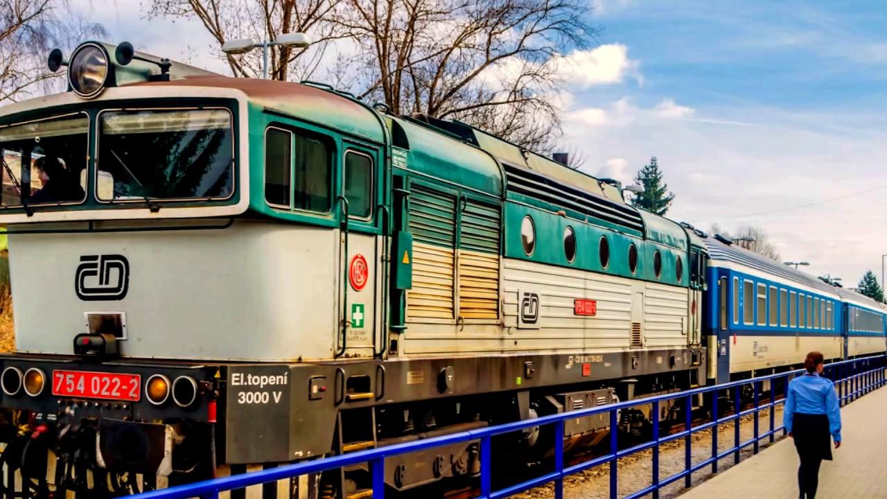 Поездка на поезде из Праги в Чески-Крумлов