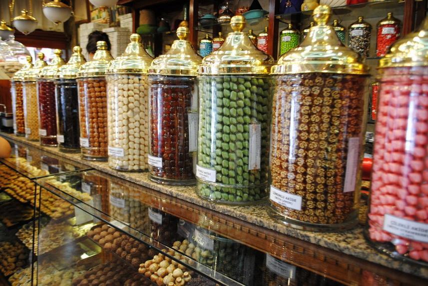 Где купить сладости в Стамбуле: магазин «Altan Şekerleme»