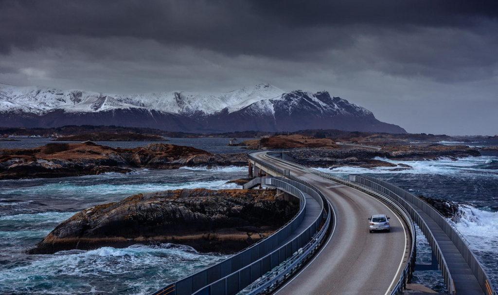 Атлантическая дорога Норвегии: как добраться