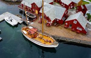 Атлантическая дорога в Норвегии: остров Хохолмен