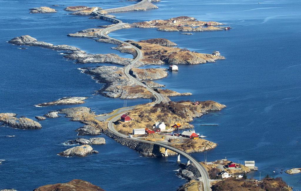 Что посмотреть в Норвегии: Атлантическая дорога