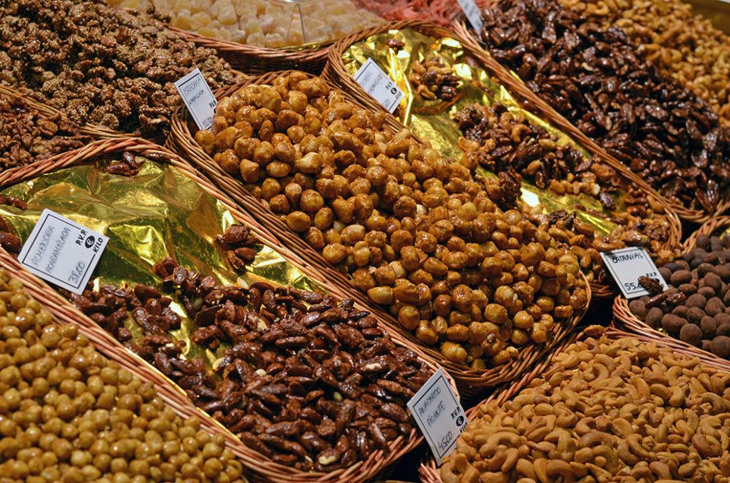 Орехи, сухофрукты и прочие полезности (Бокерия, Барселона)