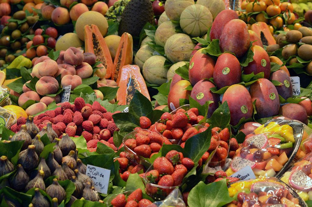 Овощи, фрукты, ягоды (Бокерия, Барселона)
