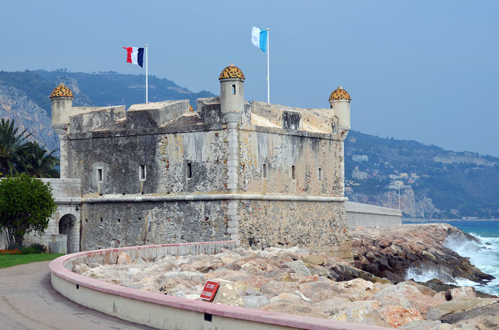 Музей Жана Кокто в крепости Гримальди (Ментон Франция) Отдых в Ментоне Отдых в Ментоне menton france 3 1024x678