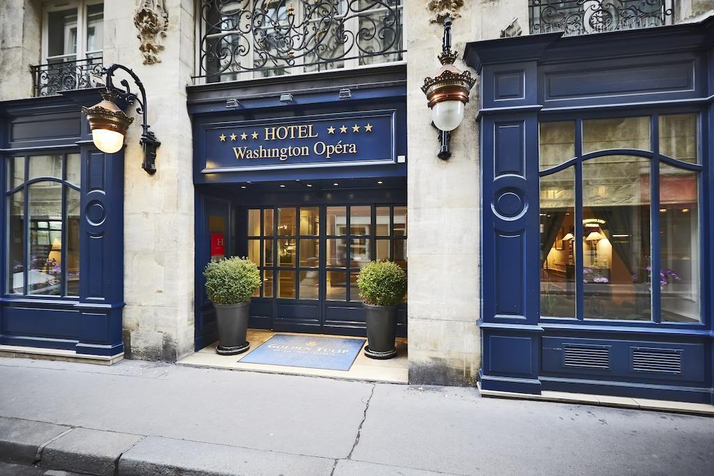 Golden Tulip Washington Opera — любимый отель в Париже!