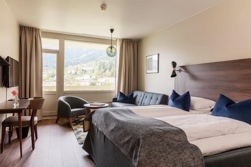 Kviknes Hotel (Согне-фьорд, Норвегия)