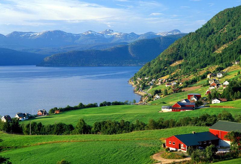 Отдых на Согне-фьорде - как добраться и где остановиться