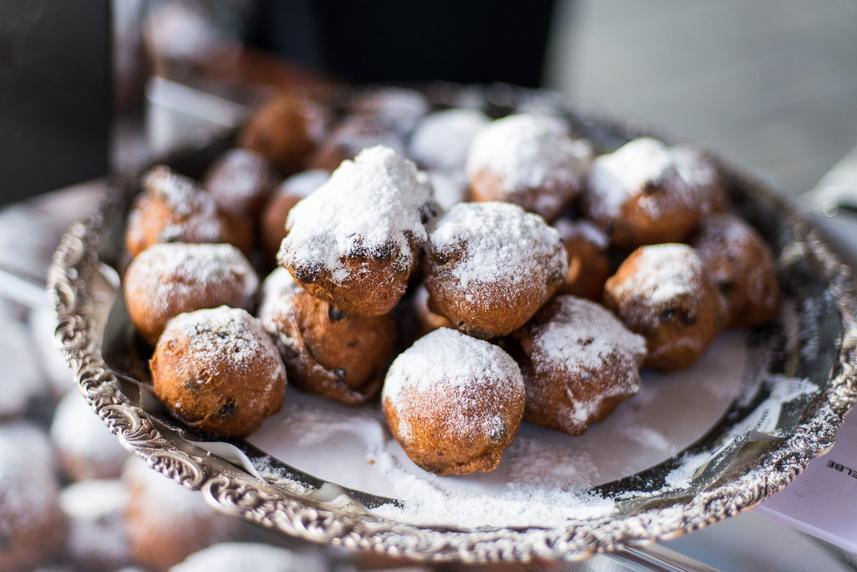 Самое вкусное из Амстердама: пончики Oliebollen