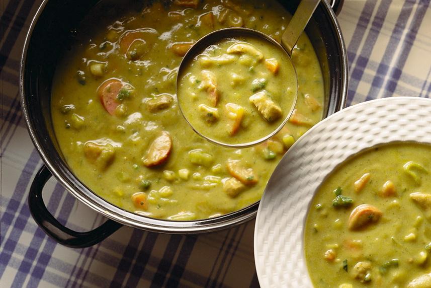 Erwtensoep — суп #1 в Амстердаме!