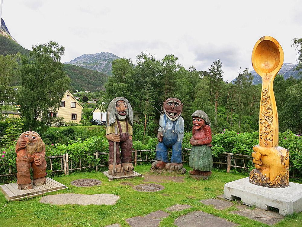 Город Кинсарвик, Норвегия - отели и достопримечательности