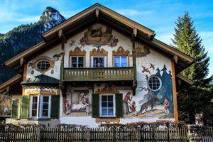 Самая яркая деревня во всей Баварии — Обераммергау!