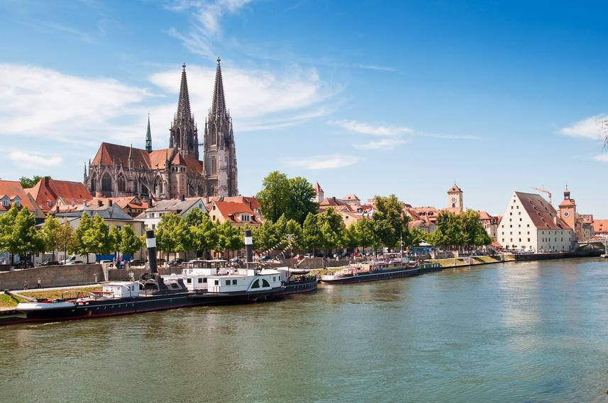 Самые красивые города Баварии: Регенсбург