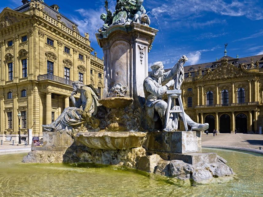 Знаменитые города Баварии: Вюрцбург