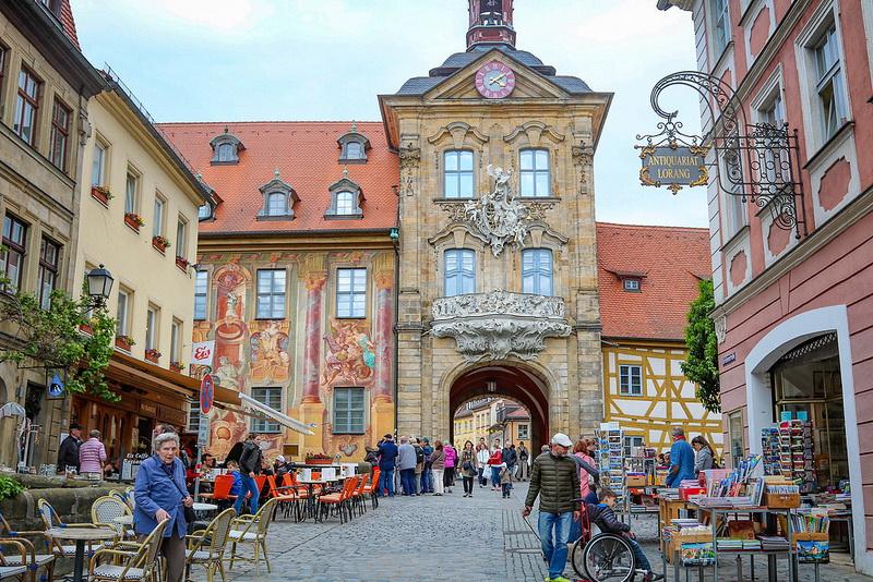 Красивейший город Бамберг (Бавария, Германия)