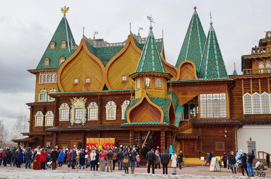 Дворец царя Алексея Михайловича в Коломенском, Москва