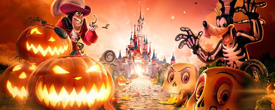 Хэллоуин в Парижском Диснейленде длится целый месяц!