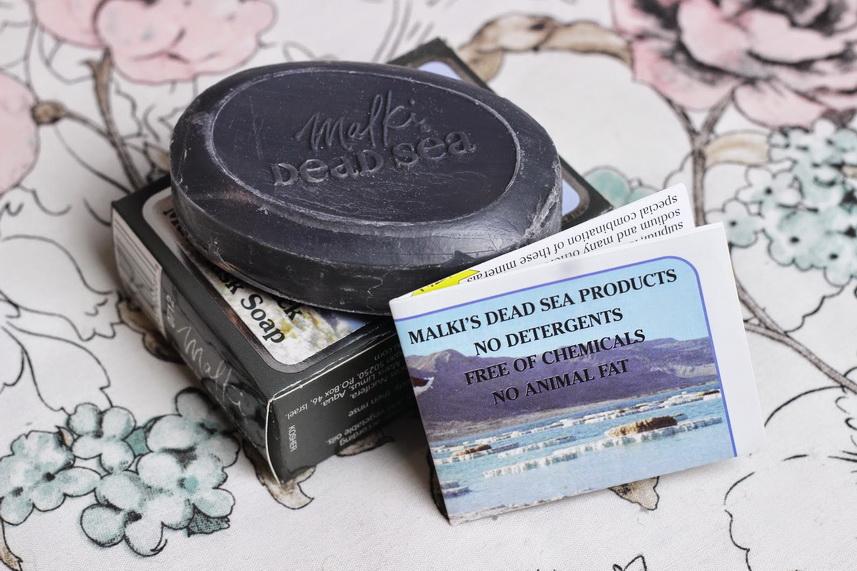 Сувениры из Израиля: мыло из грязей Мертвого моря
