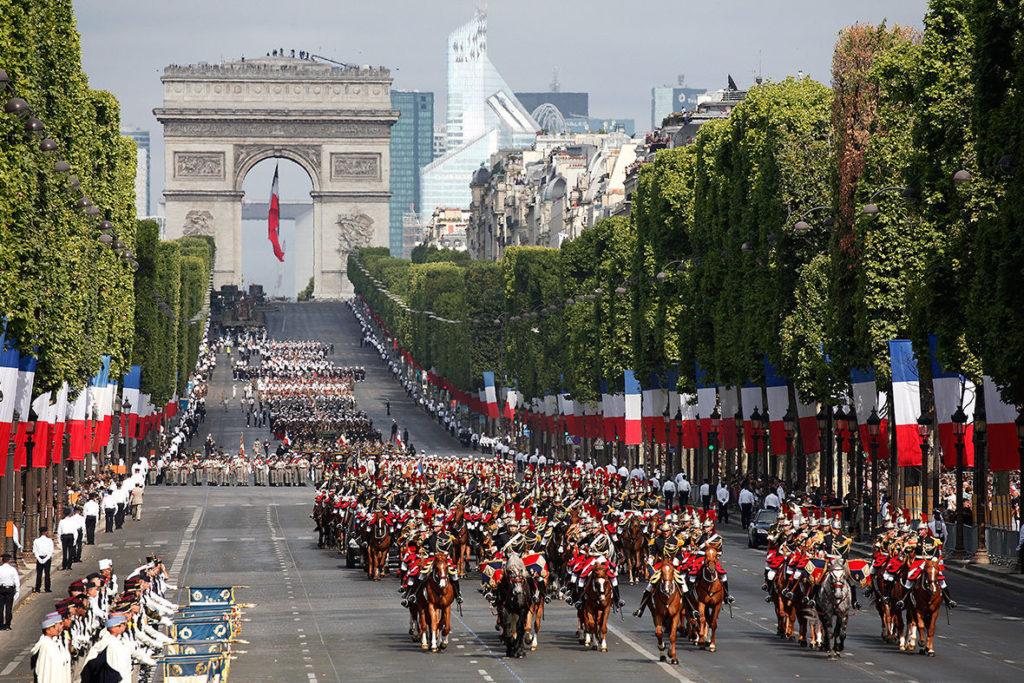 Государственные праздники Парижа: День взятия Бастилии