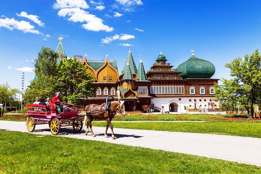 Дворец-музей в парке Коломенское, Москва