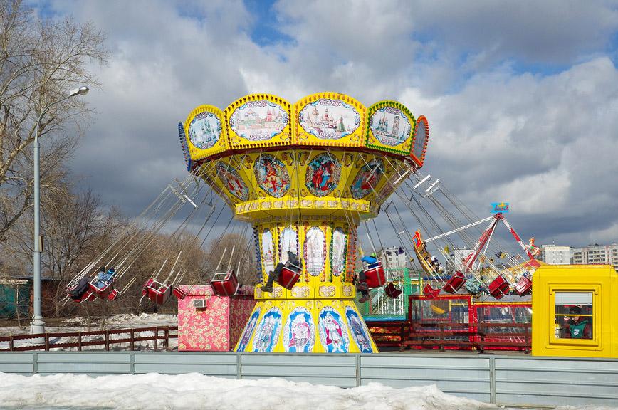 Карусель в Коломенском, Москва