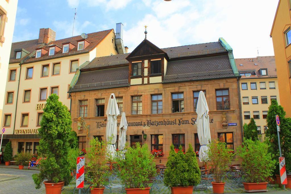 Отель + ресторан Steichele в центре Нюрнберга (Бавария, Германия)