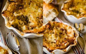 Рецепт французского лукового пирога (ингредиенты, фото и фидео)