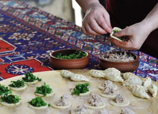 Пельмени «гюрза» — рецепт приготовления
