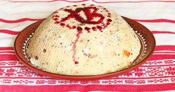 Пасха из сырого творога «Боярская» — набор продуктов, рецепт приготовления, видео
