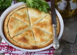 Тиропита — сырный греческий пирог: рецепт приготовления