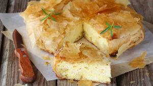 Греческий пирог тиропита - рецепт приготовления, ингредиенты