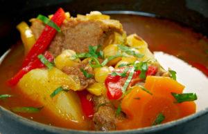 Сытный и ароматный армянский суп бозбаш (рецепт, фото и видео)