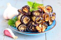 Бадриджани (рулеты из баклажанов) — состав продуктов, рецепт