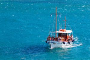Морская прогулка по заливу Мирабелло в Элунде (о. Крит, Греция)