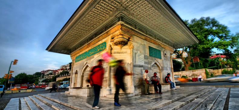 Фонтан султана Ахмеда III (площадь Ускюдар)