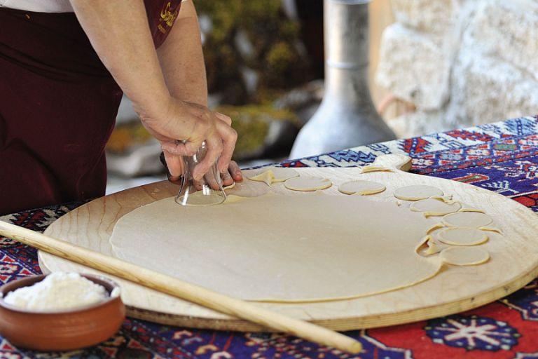 Азербайджанские пельмени гюрза (рецепт и фото)