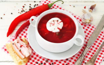 Украинский борщ по-львовски — набор продуктов, рецепт, фото и видео