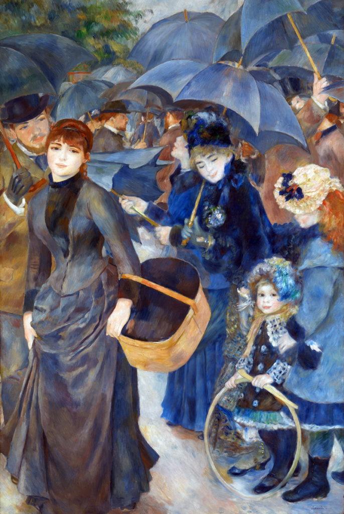 Шедевры импрессионизма: «Зонтики», Пьер-Огюст Ренуар