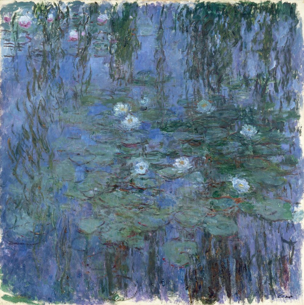 Шедевры импрессионистов: «Водяные лилии» Клода Моне