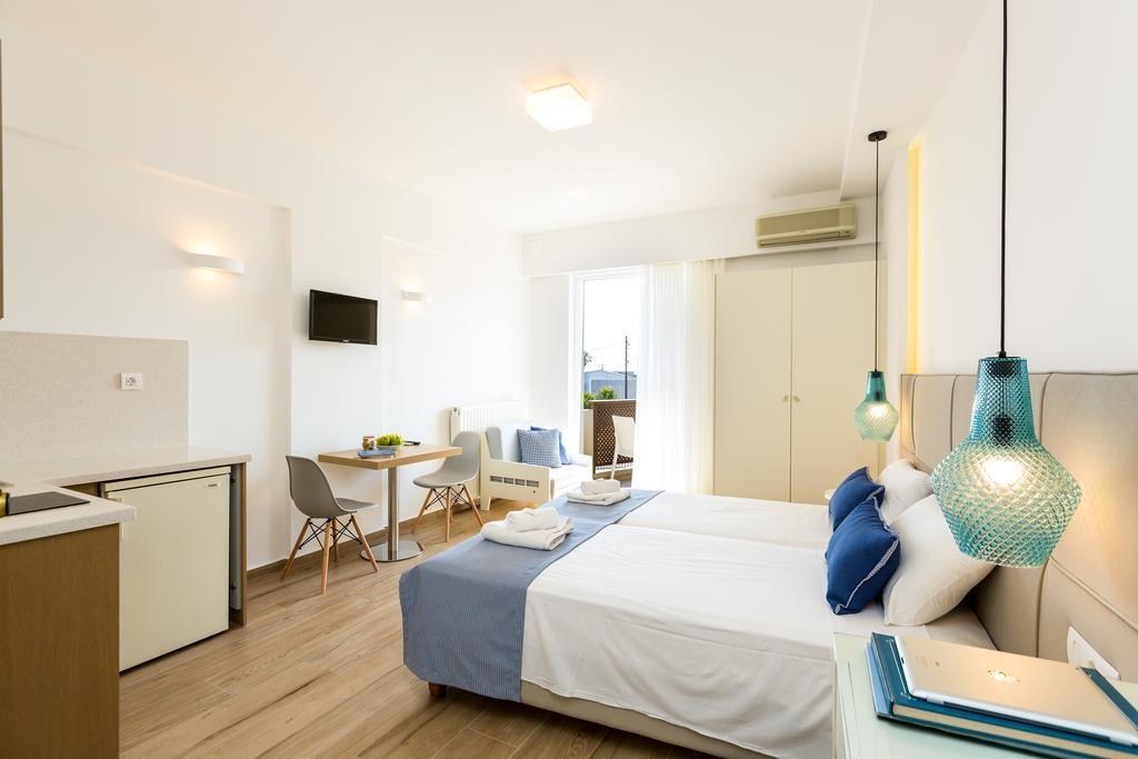 Стандартный номер в Eltina Hotel с мини-кухней (Ретимно, Крит)