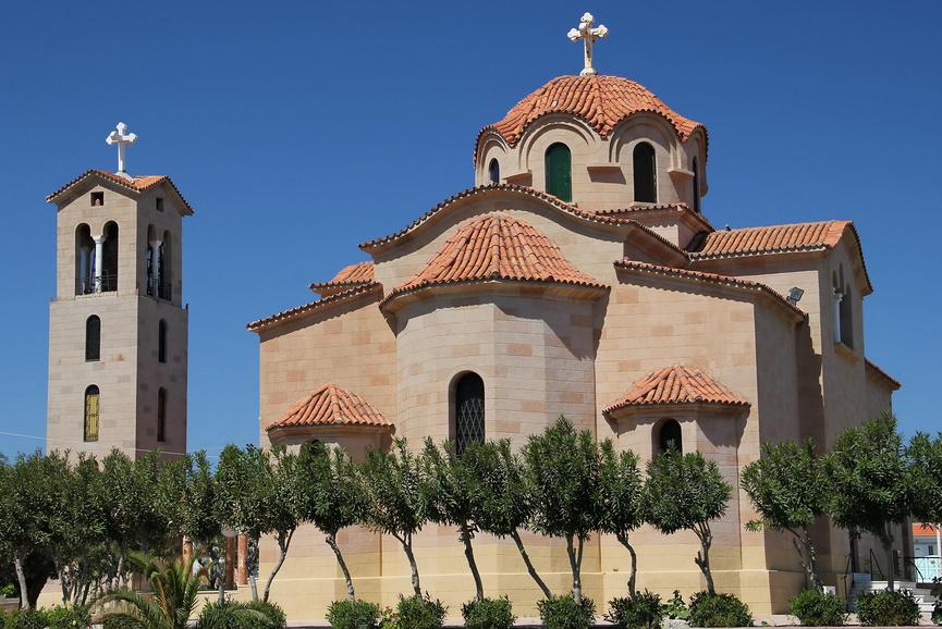 Достопримечательности Фалираки: церковь святого Нектария