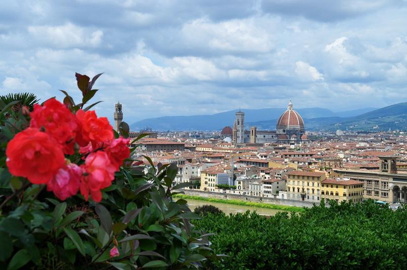 Достопримечательности Флоренции: смотровая площадка на площади Микеланджело