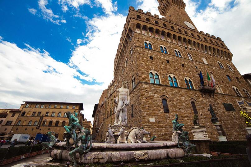 Интересные места Флоренции: дворец Веккьо