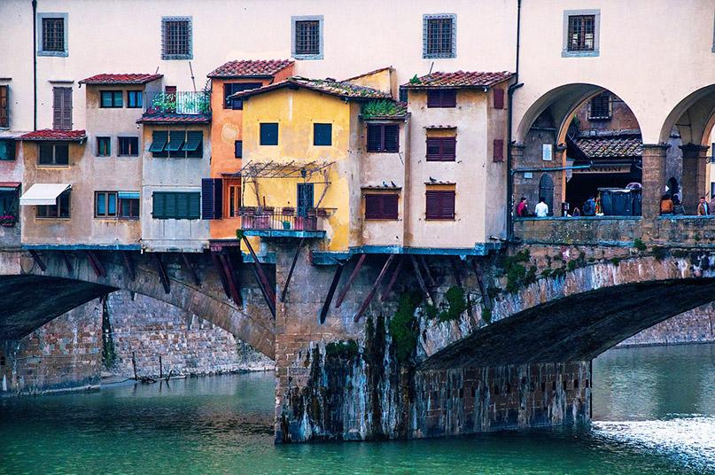 Что посмотреть во Флоренции: мост Веккьо