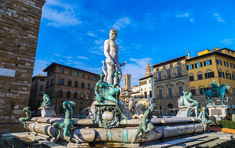 Самые интересные места Флоренции: площадь Синьории