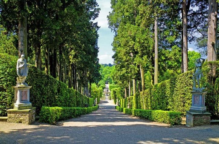 Достопримечательности Флоренции и окрестностей: сады Боболи
