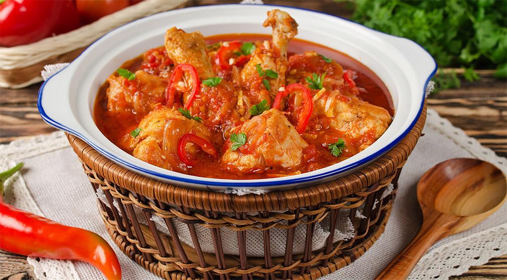 Грузинские горячие блюда — чахохбили